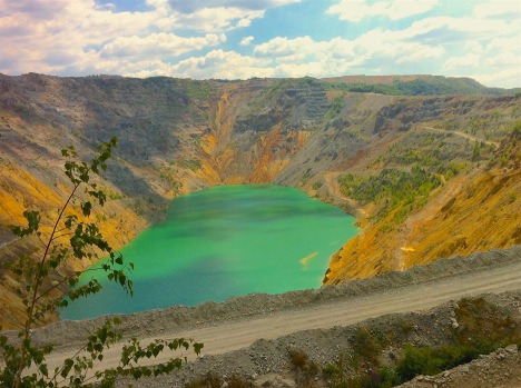 Kupferminen-See, Majdanpek, Serbien