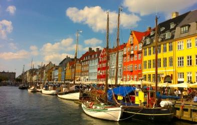 Nyhavn Kopenhagen, Dänemark