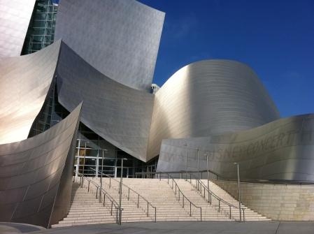 World Disney Concert Hall, Los Angeles, Kalifornien, USA