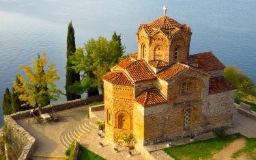 Sveti Jovan Kaneo, Ohrid See, Mazedonien