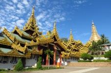 Shwedagon Pagode, Yangon, Myanmar
