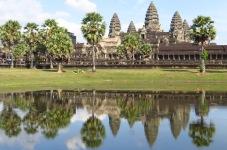 Angkor Wat Tempel, Kambodscha