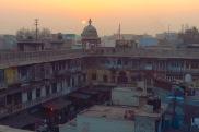 Über den Dächern von Delhi, Indien