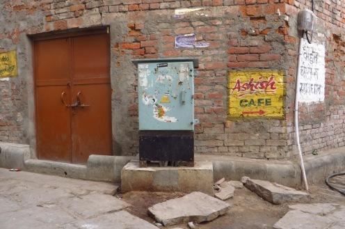 Gassen in der Altstadt von Varanasi.