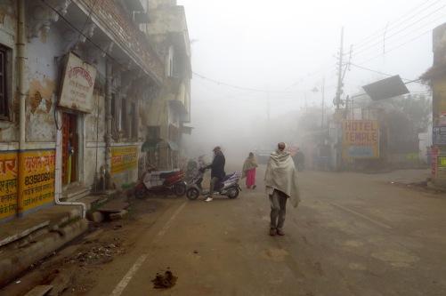 Straße zum Asi Ghat.