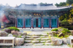 Miraesa Temple, Tongyeong, Südkorea
