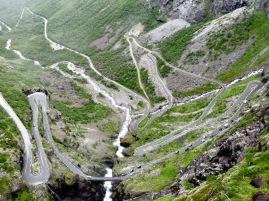 Trollstigen, Norwegen.