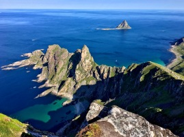 Hårbandet, Andøya, Norwegen.